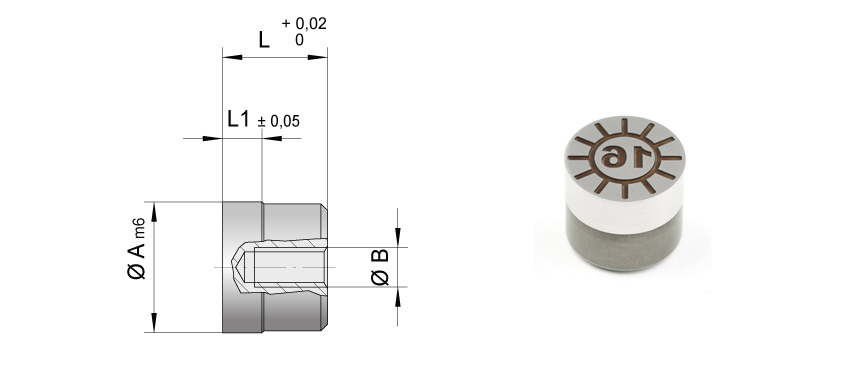 Die casting molds - Date stamps for mold